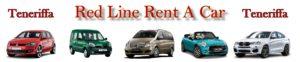 Teneriffa Mietwagen Red Line Rent a Car.