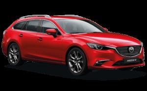 Mietwagen Mazda 6 Automatik - Autovermietung Fuerteventura
