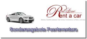 Mietwagen Sonderangebote Autovermietung Fuerteventura